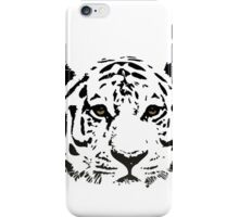 Sad tiger iPhone Case/Skin