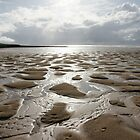 Beach at Croyde in North Devon by MendipBlue