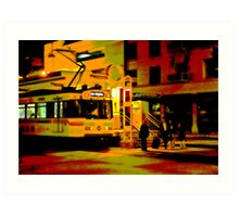 Downtown Metro Art Print