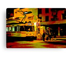 Downtown Metro Canvas Print