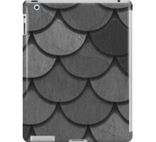 Overlapping Circles in Black & White iPad Case/Skin