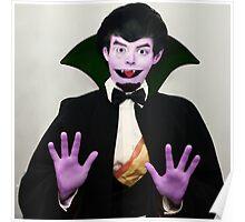 Count Von Count Poster
