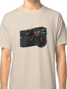 Leica M9 Black Angled Classic T-Shirt