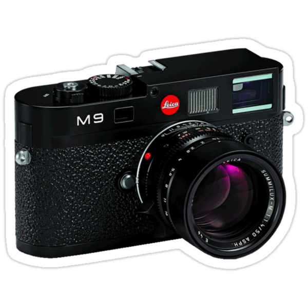 Leica M9 Black Angled by benjy