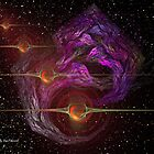 Fractals In Space by Dean Warwick