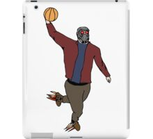 Star-Lord Wins The Intergalactic Hoops Tourney iPad Case/Skin