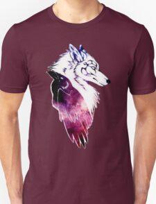 Galaxy Raven & Wolf T-Shirt