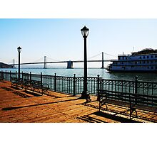 Pier 7 Bayscape Photographic Print