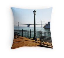 Pier 7 Bayscape Throw Pillow