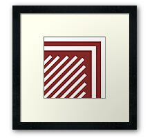Candy Cane Framed Print