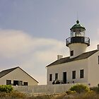 Old Point Loma Lighthouse San Diego, California by Christine Till  @    CT-Graphics
