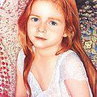 Tamsin, Pastel Portrait by bevgeorge