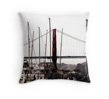 Furled Sails Throw Pillow