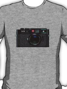 Leica M9 Black front T-Shirt