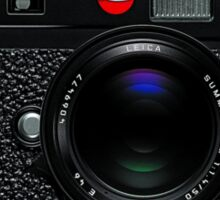 Leica M9 Black front Sticker