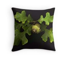 Burr Oak Throw Pillow