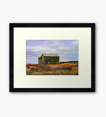 """"""" A barn do ment """" Framed Print"""