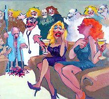 I Hate It When He Brings Patients to Parties Just To Prove His Point! by Norman Kelley