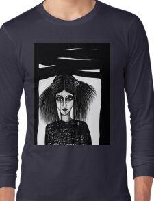 Black Window Long Sleeve T-Shirt