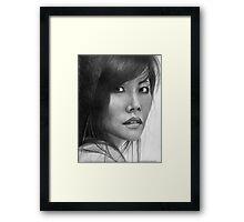 Mimi - Portrait of an Artist Framed Print