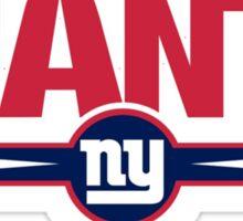 new york giants logo Sticker