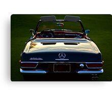Mercedes Sunset Canvas Print