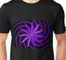 Somewhere are Purple Flowers Blooming Unisex T-Shirt