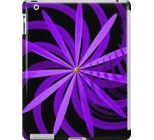 Somewhere are Purple Flowers Blooming iPad Case/Skin