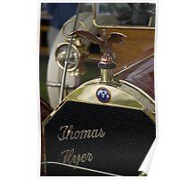 1909 Thomas-Flyer 6-40 7-Passenger Touring Poster