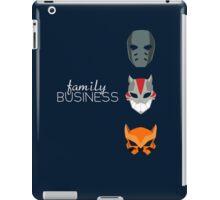 Family Business iPad Case/Skin