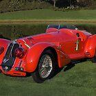 1939 Alfa Romeo 8c 2900 Mille Miglia by Timothy Meissen