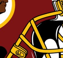 washington redskins helmet logo Sticker
