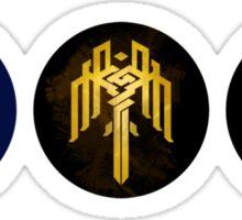 Dragon Age Trilogy Symbols Sticker