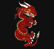 Red Dragon with Golden Style Unisex T-Shirt