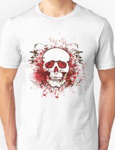 Grunge Skull  T-Shirt
