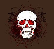 Grunge Skull  by orgus88