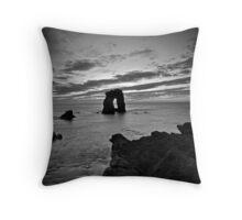 Gaarda Stack Black & White Throw Pillow