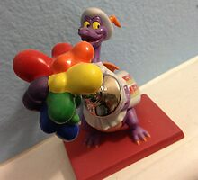 Disney FIGMENT DRAGON Disney World Epcot  by notheothereye