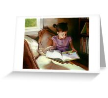 A Quiet Corner Greeting Card