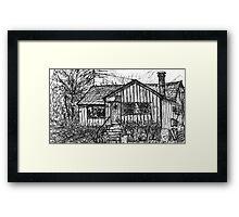 Bygone Humble Abode Framed Print