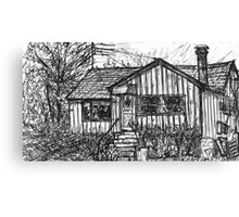 Bygone Humble Abode Canvas Print