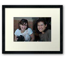 Fellow photographers. Framed Print