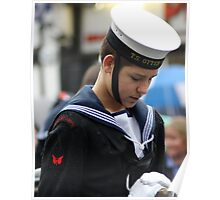 Remembrance Day - Sea Cadet Poster