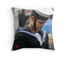 Remembrance Day - Sea Cadet Throw Pillow
