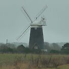 Norfolk Wind mill by jackie martino