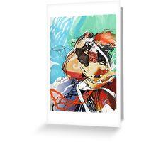 JellyfishMaid Fashion Greeting Card