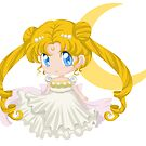 Princess Serenity - Sailor Moon by bastetsama