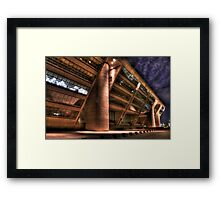 Dallas City Hall at Night Framed Print