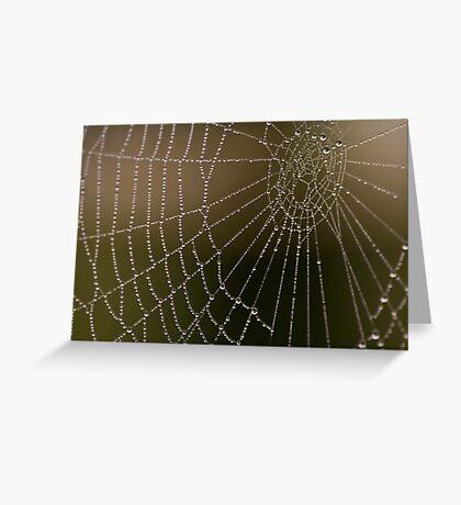 spiders nightmare Greeting Card