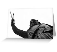 William Wallace Greeting Card